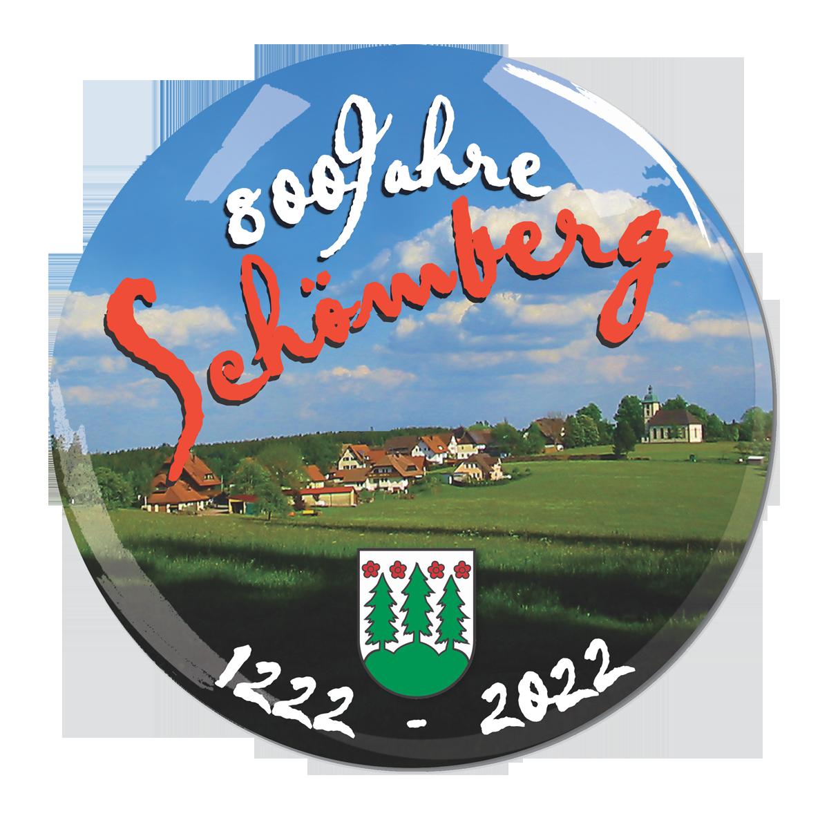 800 Jahre Schömberg Logo